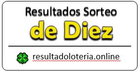 RESULTADOS SORTEO DE DIEZ
