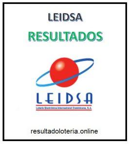 RESULTADOS LEIDSA 7 DE ABRIL