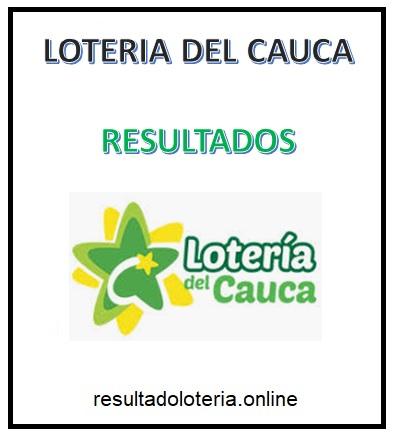 LOTERIA DEL CAUCA RESULTADOS