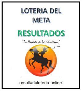 RESULTADOS LOTERIA META 7 DE ABRIL
