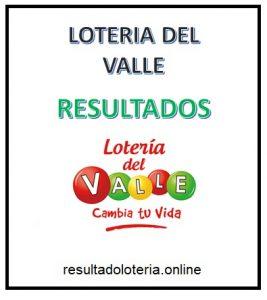 LOTERIA VALLE 13 DE OCTUBRE RESULTADOS