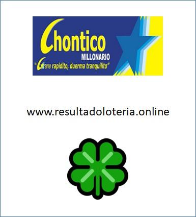 CHONTICO - NUMEROS GANADORES - RESULTADOS DEL CHANCE