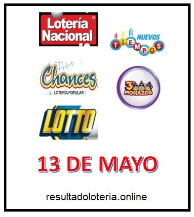 LOTERIA COSTA RICA 13 DE MAYO JPS
