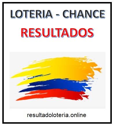 RESULTADOS LOTERIA Y CHANCE
