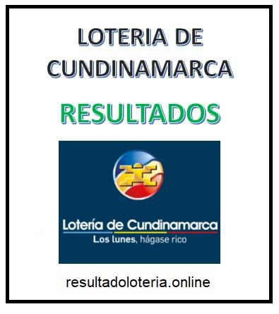 LOTERIA CUNDINAMARCA RESULTADOS