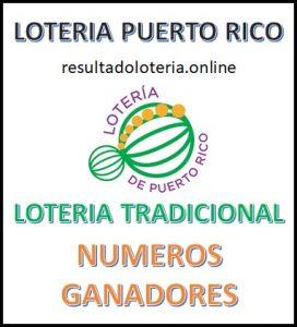 LOTERIA TRADICIONAL 23 DE SEPTIEMBRE PUERTO RICO