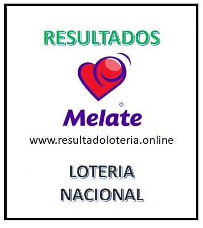 RESULTADOS MELATE